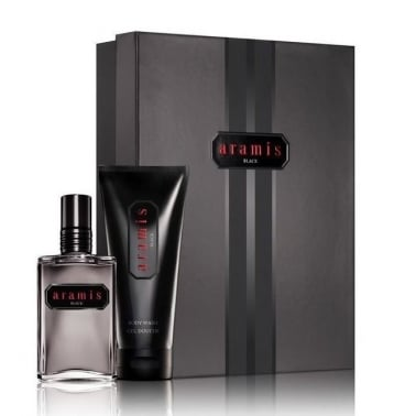 Aramis Black For Men - 60ml EDT Gift Set With 100ml Body Wash.
