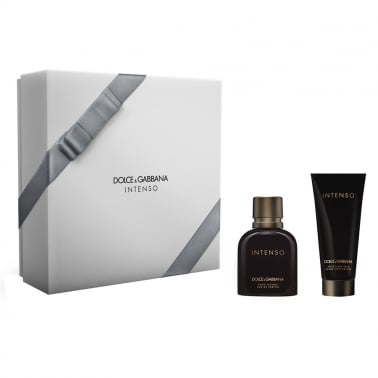 Dolce and Gabbana Pour Homme Intenso - 75ml EDP Gift Set With 100ml A/S Balm.