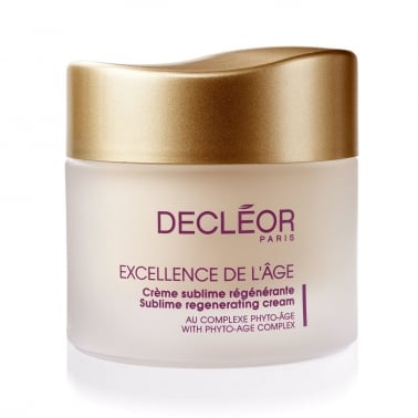 Decleor Excellence de l'Age Sublime Regenerating Cream 50ml.