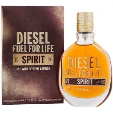 Diesel Fuel For Life Spirit Pour Homme - 50ml Eau De Toilette Spray.