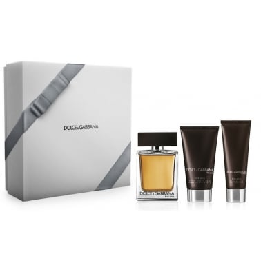 Dolce & Gabbana The One For Men - 100ml EDT Gift Set With Shower gel, a/s balm