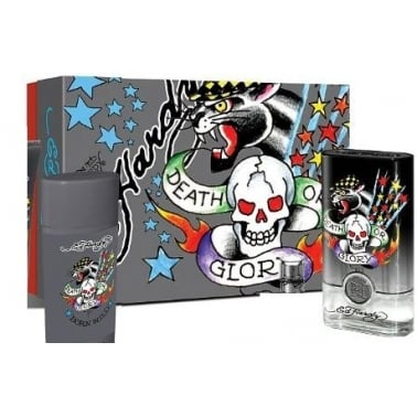 Christian Audigier Ed Hardy Born Wild For Men - 50ml EDT Gift Set, 90ml Shower