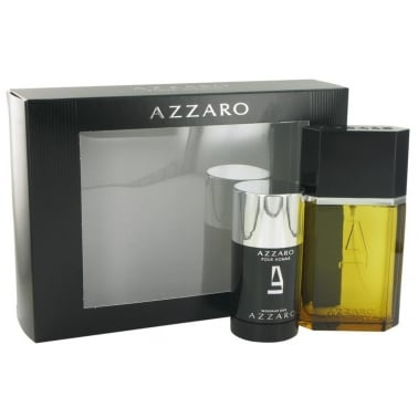 Azzaro Pour Homme - 50ml EDT Gift Set With Deodorant, DAMAGED BOX.