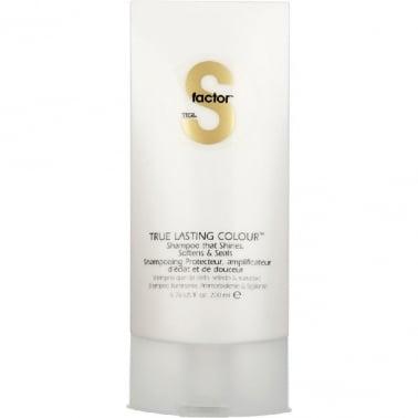 Tigi S Factor True Lasting Colour Shampoo 200ml.