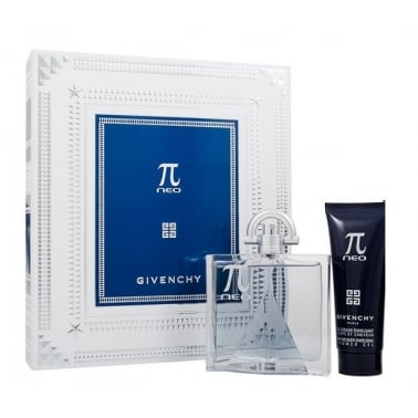 Givenchy Pi Neo - 50ml EDT Gift Set With 75ml Hair and Body Shower Gel.