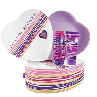 Justin Bieber Girlfriend - 30ml EDP Gift Set With 100ml Perfumed Body Lotion