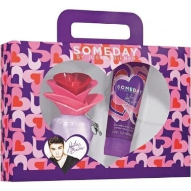 Justin Bieber Someday - 30ml EDP Gift Set With 100ml Perfumed Body Lotion