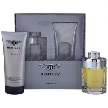 Bentley For Men - 100ml EDT Gift Set With 200ml Shower gel, DAMAGED BOX.