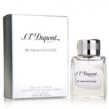 S.T Dupont 58 Avenue Montaigne Homme - 30ml Eau De Toilette Spray.
