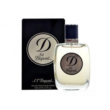 S.T Dupont So Dupont Pour Homme - 100ml Eau De Toilette Spray.
