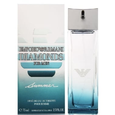 Armani Diamonds Summer For Men 2010 - 75ml Fraiche Eau De Toilette Spray.