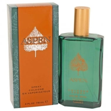 Coty Aspen - 118ml Eau De Cologne Spray.