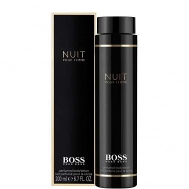 Hugo Boss Nuit Pour Femme - 200ml Perfumed Body Lotion.
