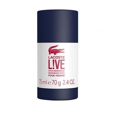 Lacoste Live Pour Homme - 75ml Deodorant Stick.