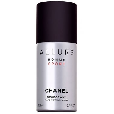 Chanel Allure Homme Sport - 100ml Deodorant Spray.