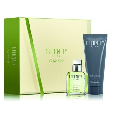 Calvin Klein Eternity for Men -  30ml EDT Gift Set With 100ml Shower Gel.
