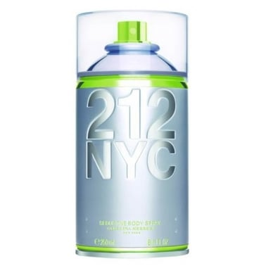 Carolina Herrera 212 For Women - 250ml Seductive Body Spray.