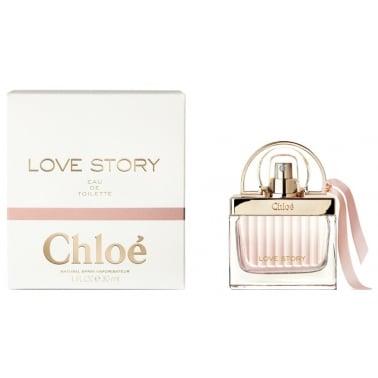 Chloe Love Story - 50ml Eau De Toilette Spray.