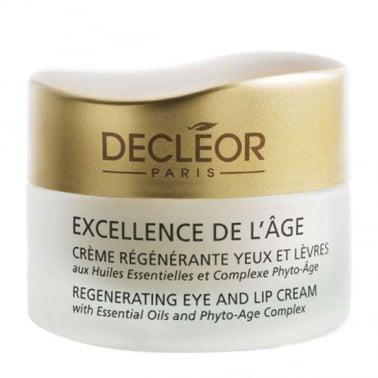 Decleor Excellence de l'Age Regenerating Eye and Lip Cream 15ml.
