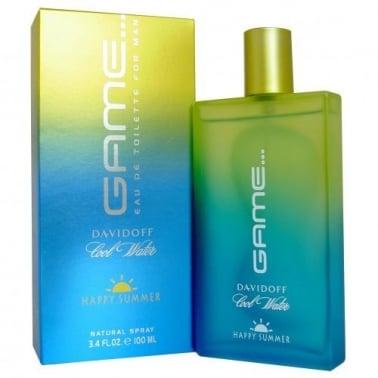 Davidoff Cool Water Game For Men Summer - 100ml Eau De Toilette Spray.