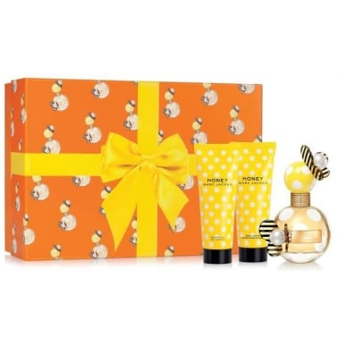 Marc Jacobs Honey - 50ml Gift Set With 75ml Body Lotion, 75ml Shower Gel.