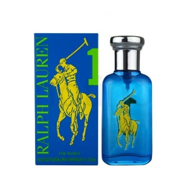 Ralph Lauren Big Pony Collection Women Blue 1 - 50ml Eau De Toilette Spray.