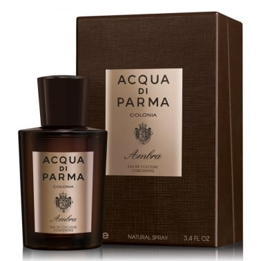 Acqua Di Parma Colonia Ambra - 100ml Eau De Cologne Concentree Spray.