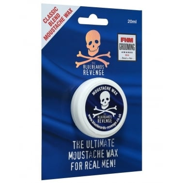 The Bluebeards Revenge Classic Blend Moustache Wax 20ml.