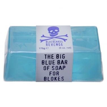 The Bluebeards Revenge Big Blue Bar of Soap For Blokes 175g