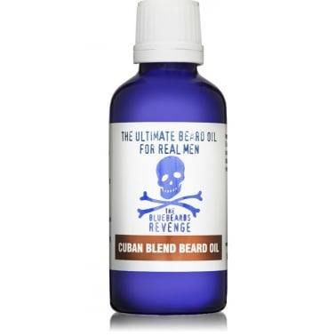 The Bluebeards Revenge Cuban Blend Beard Oil 50ml.