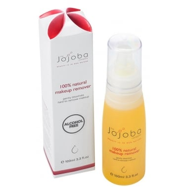 The Jojoba Company 100% Natural Makeup Remover 100ml.