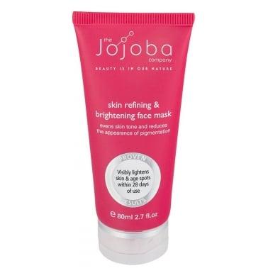 The Jojoba Company 100% Natural Skin Refining and Brightening Face Mask 80ml.