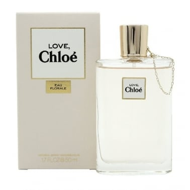 Chloe Love Eau Florale - 50ml Eau De Toilette Spray.