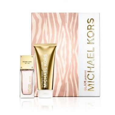 Michael Kors Glam Jasmine - 50ml EDP Gift Set With 100ml Ultimate Body Lotion.