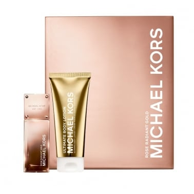 Michael Kors Rose Radiant Gold - 50ml EDP Gift Set With 100ml Ultimate Body
