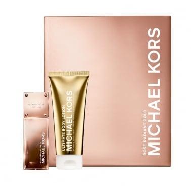 Michael Kors Rose Radiant Gold - 50ml EDP Gift Set With 100ml Ultimate Body