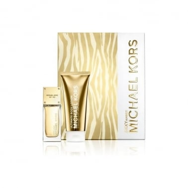 Michael Kors Sexy Amber - 50ml EDP Gift Set With 100ml Body Lotion.