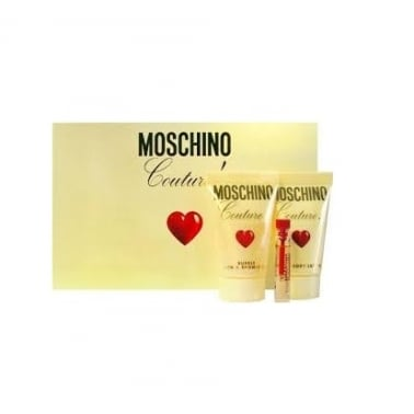 Moschino Couture Mini Set - 1.5ml Viale, 25ml Bath and Shower Gel and 25ml Bodyo