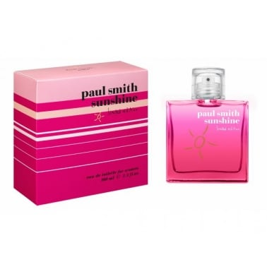 Paul Smith Sunshine For Women 2014 - 100ml Eau De Toilette Spray.