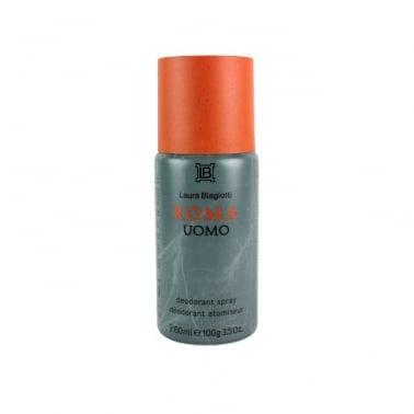 Laura Biagiotti Roma Uomo - 100g Deodorant Spray