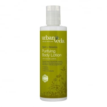 Urban Veda Natural Skincare - 250ml Purifying Body Lotion.
