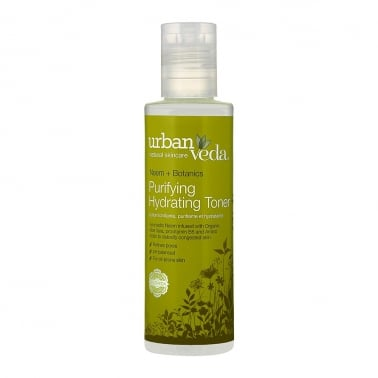 Urban Veda Natural Skincare Neem + Botanics - 150ml Purifying Hydrating Toner.