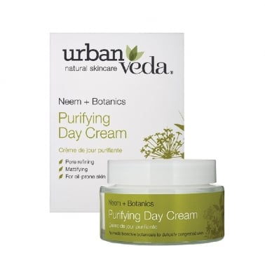 Urban Veda Natural Skincare Neem + Botanics - 50ml Purifying Day Cream.