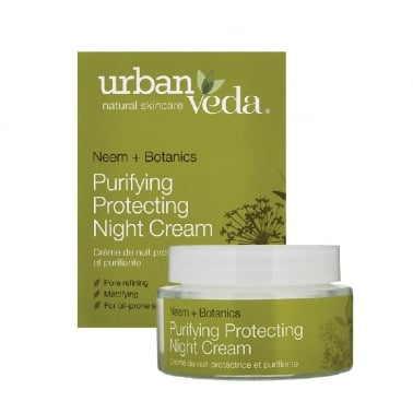 Urban Veda Natural Skincare Neem + Botanics - 50ml Purifying Night Cream.