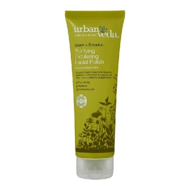 Urban Veda Natural Skincare Neem + Botanics - 125ml Purifying Facial Polish.