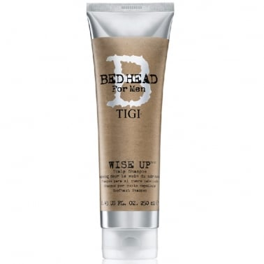 Tigi Bed head For Men - 250ml Wise Up Scalp Shampoo.