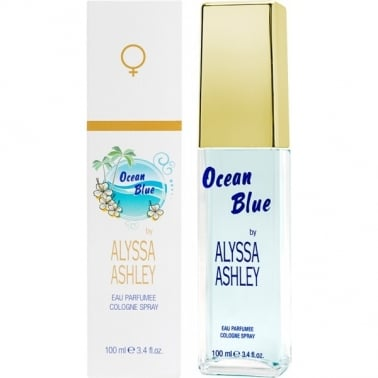 Alyssa Ashley Ocean Blue Eau Parfumee - 100ml Cologne Spray.