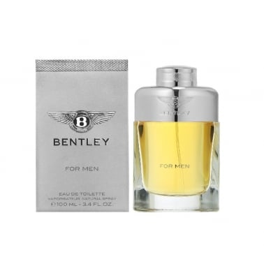 Bentley For Men - 100ml Eau De Toilette Spray.