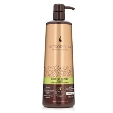 Macadamia Professional Ultra Rich Moisture Shampoo 1000ml - Very Coarse