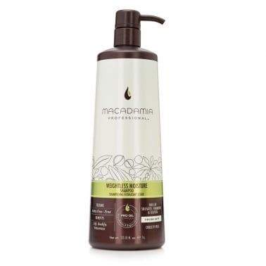 Macadamia Professional Weightless Moisture Shampoo 1000ml - Fine Hair